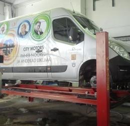 Autotöökoda - kaubikute remont - Maardu